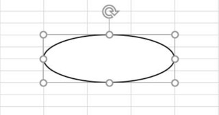 楕円を描き、回転させる
